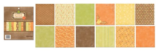 Creative Imaginations 6x6 Paper Pad - Orchard Harvest