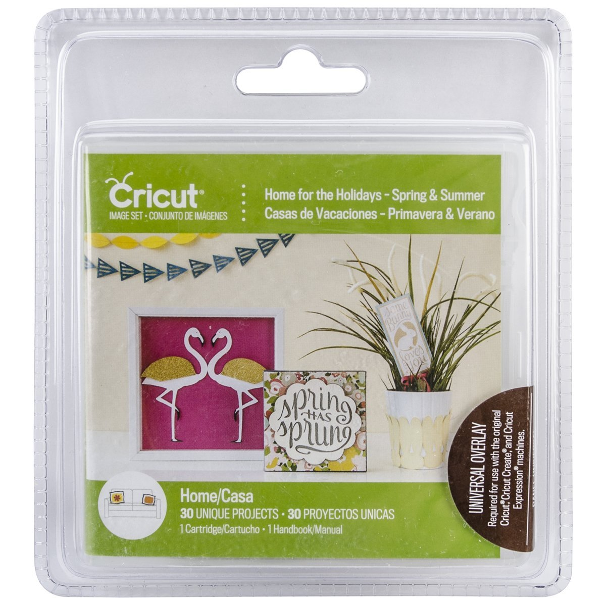 Cricut Cartridge: Home for the Holidays - Spring & Summer