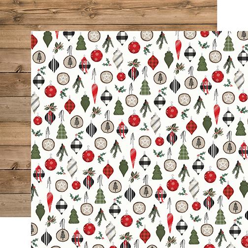 Farmhouse Christmas: Ornaments DS Paper