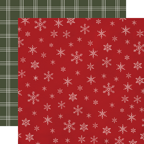 Farmhouse Christmas: Snowflakes DS Paper