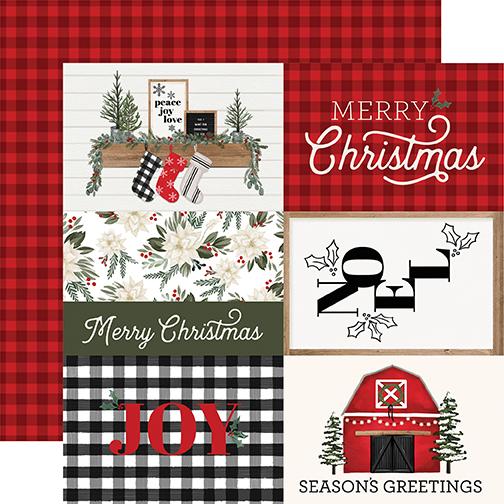 Farmhouse Christmas: 4X6 Journaling Cards