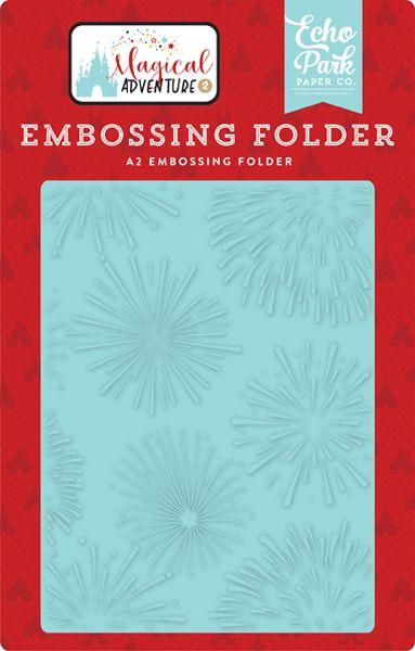 Embossing Folder- Firework Magic