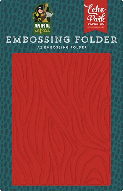 Embossing Folder- Zebra