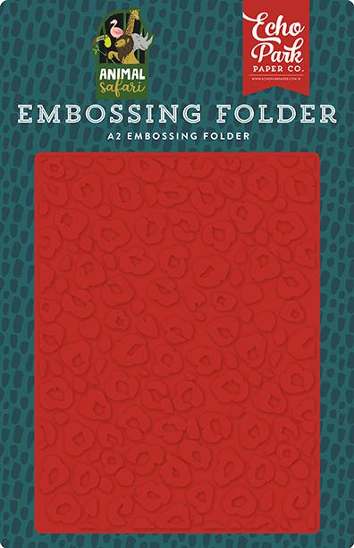 Embossing Folder- Leopard