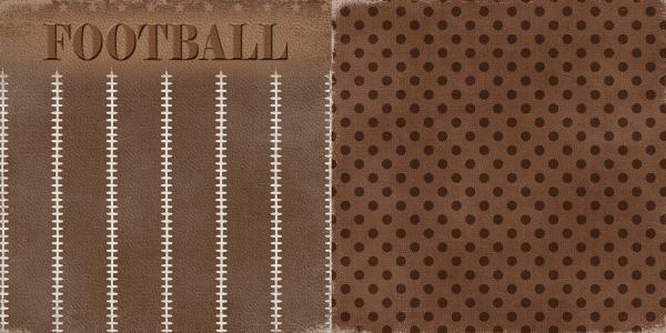 Football Scrapbooking Supplies