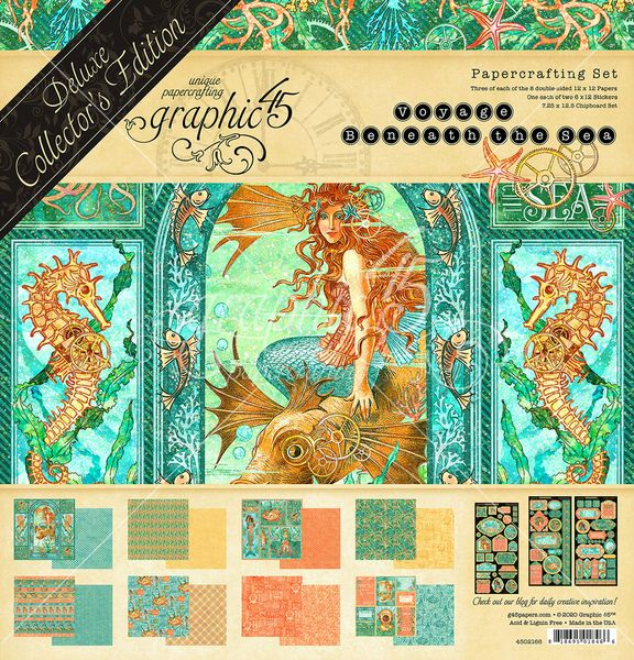 Voyage Beneath the Sea Deluxe Collector's Edition