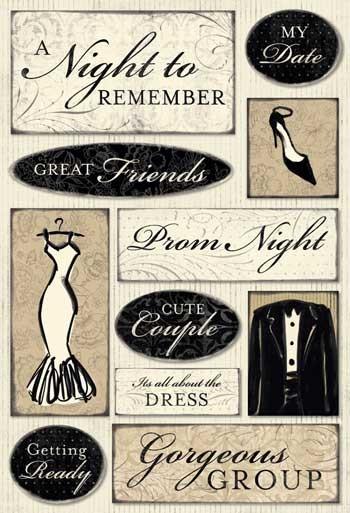 School Dances Stickers - Prom