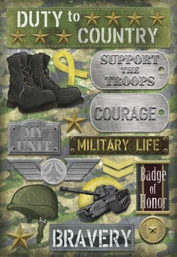 Military Life Stickers