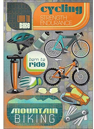 Love to Bike Sticker Sheet