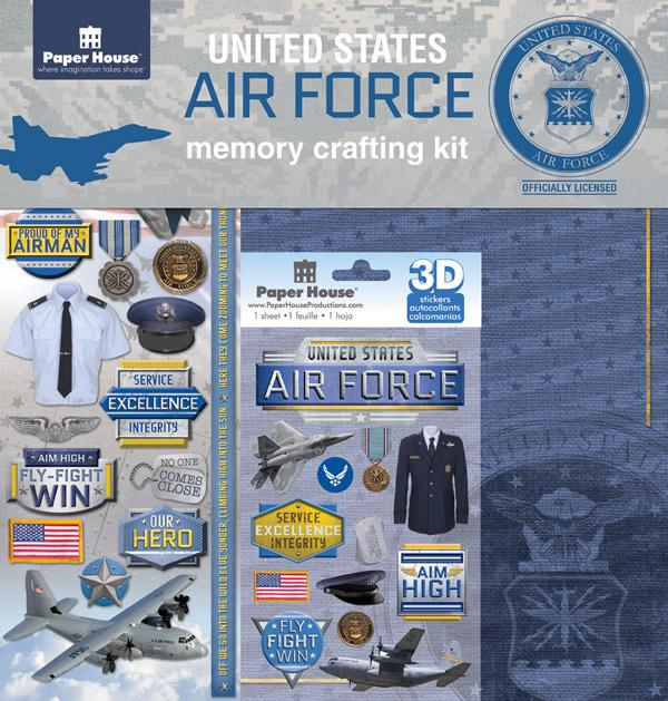 Air Force Memory Crafting Kit