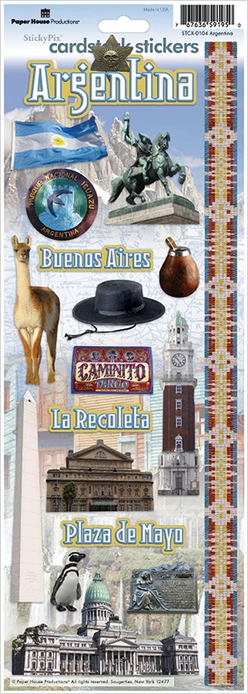Argentina Cardstock Stickers