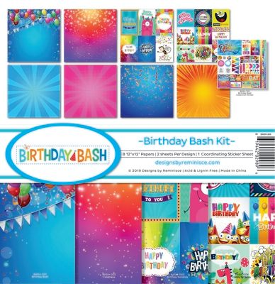 Birthday Bash Collection Kit