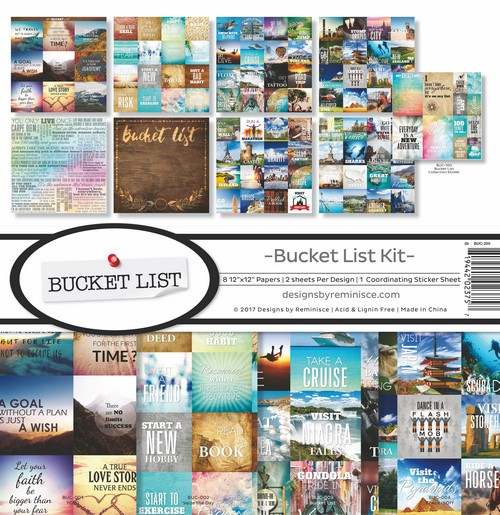 Bucket List Collection Kit