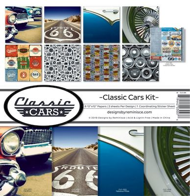 Classic Cars Collection Kit