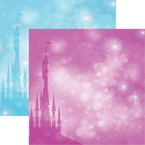 Frosted: Frost Castle Double-Sided Paper
