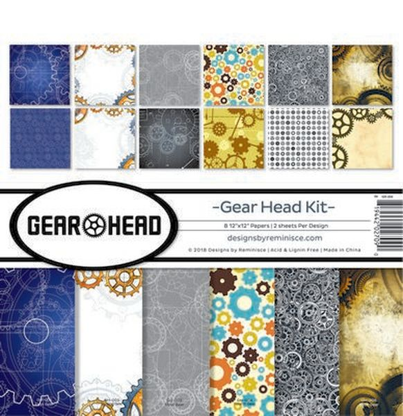 Gear Head Collection Kit