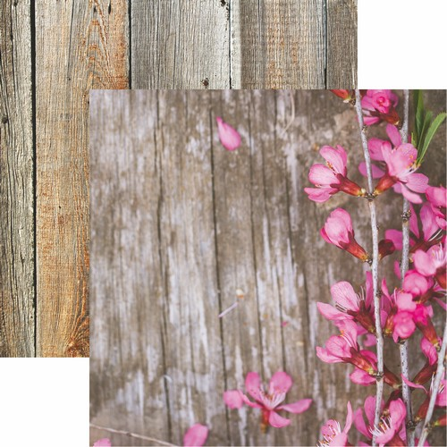 Hello Spring: Spring Flowers Scrapbook Paper