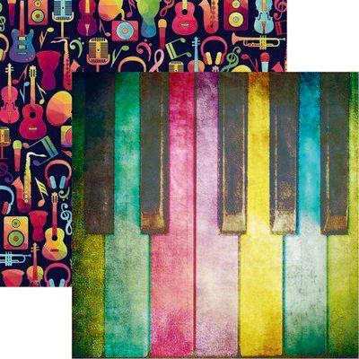 High School Musical: Piano Scrapbook Paper