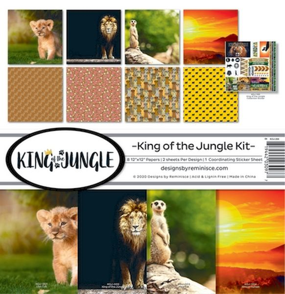 King of the Jungle Collection Kit