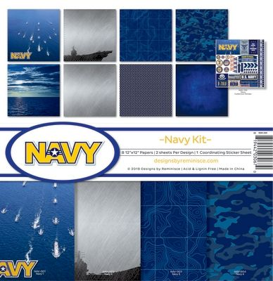 Navy Collection Kit