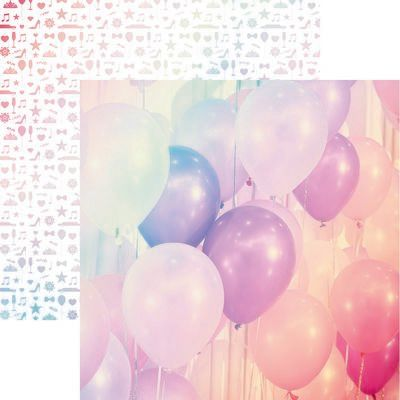 A Night to Remember: Up and Away Scrapbook Paper