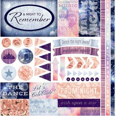 A Night to Remember Sticker