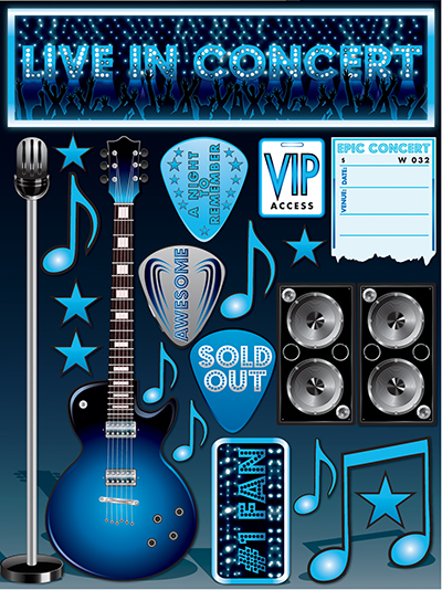 Signature Series 3 - Live in Concert Stickers