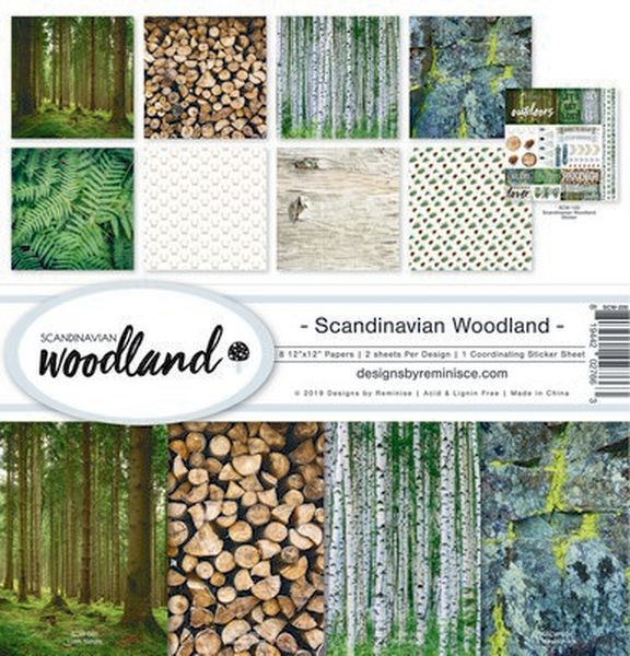 Scandinavian Woodland Collection Kit
