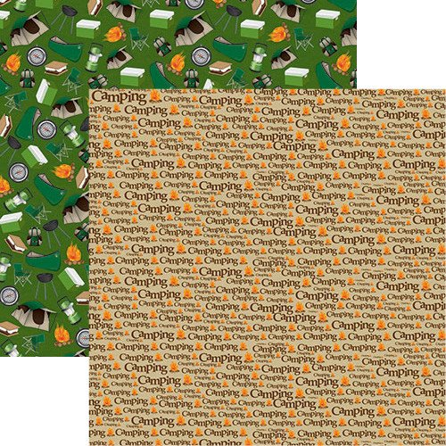 The Great Outdoors: Camping Double-Sided Paper