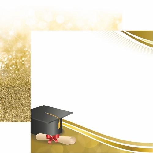 The Graduate 2018: Dream Big Scrapbook Paper