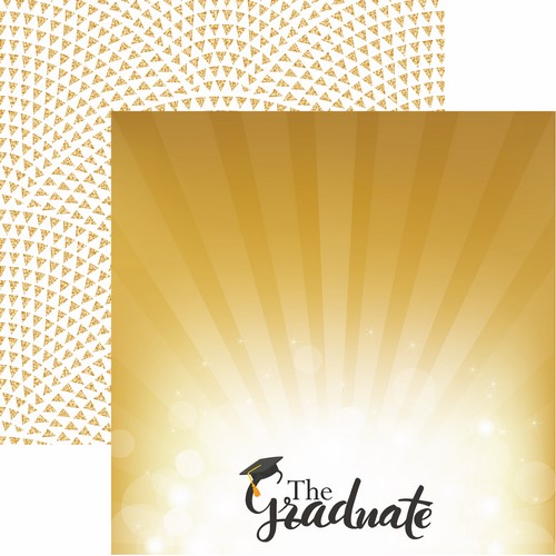 The Graduate 2018: The Graduate Scrapbook Paper