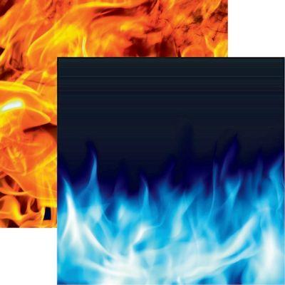 Warrior: Wild Flames Paper