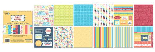 Creative Imaginations 6x6 Paper Pad - Make a Wish