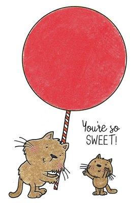 Lollipop Kitties Stamp Set