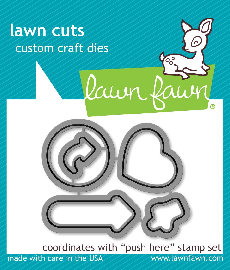 Push Here Lawn Cuts