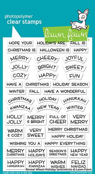 RW - Holiday Sentiments Stamp Set
